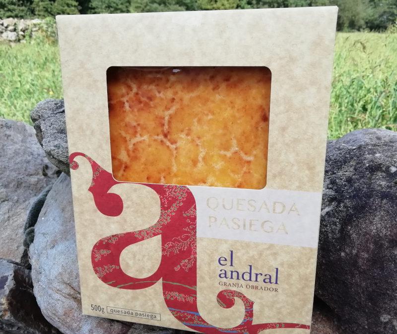 La Quesada Pasiega de El Andral, orgullosa ganadora del premio «Great Taste 2019»