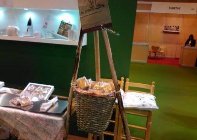 Presentación en la Feria Gourmet de Madrid de nuestro sobao ecológico (2015)